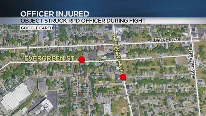 RPD: Officer injured after man throws something at them during arrest