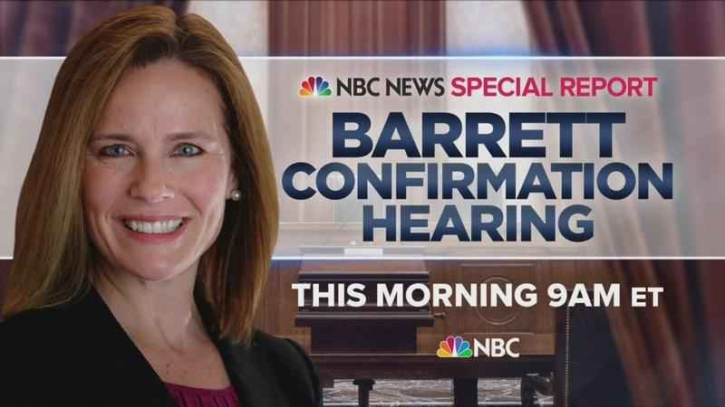 Watch live: Amy Coney Barrett Senate confirmation hearings