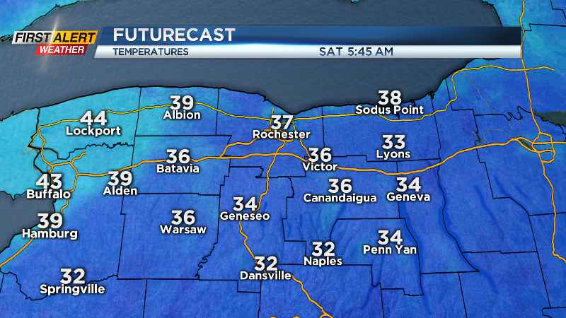 First Alert Weather: Frosty start to the weekend