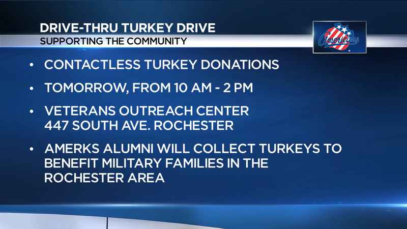 Amerks offering free tickets for those who donate to turkey drive for military families