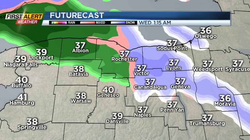 First Alert Weather Rain returns to Rochester