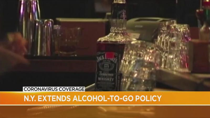 'Alcohol to go' policy extended in NY