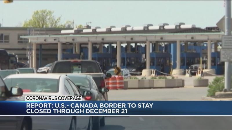 CBC: US Canadian border to stay closed into December
