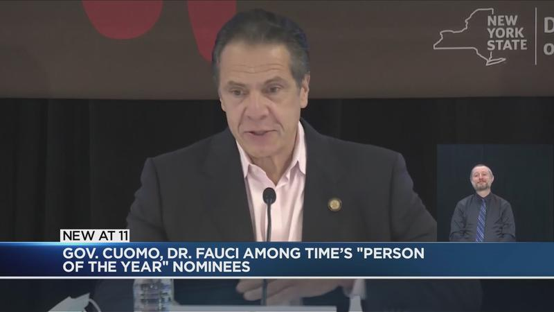 Cuomo, Fauci, Biden in the running for Time's 'Person of the Year'