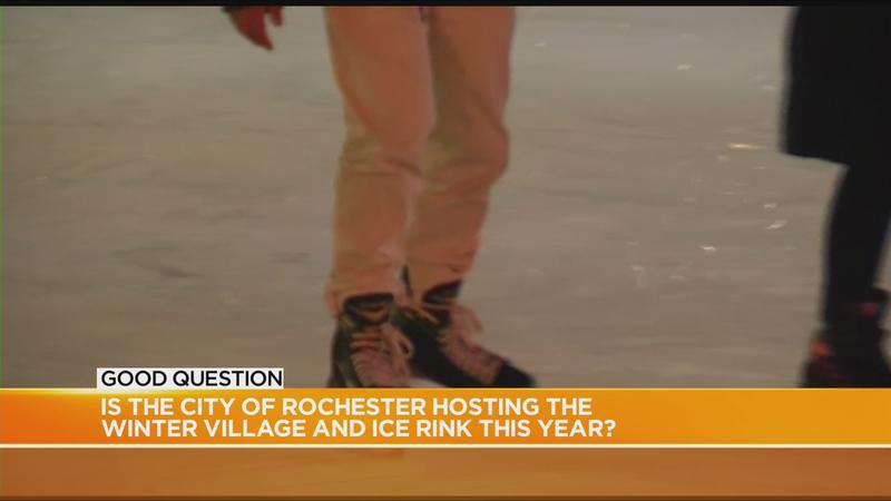 Good Question: Will the winter village and ice rink open this year?