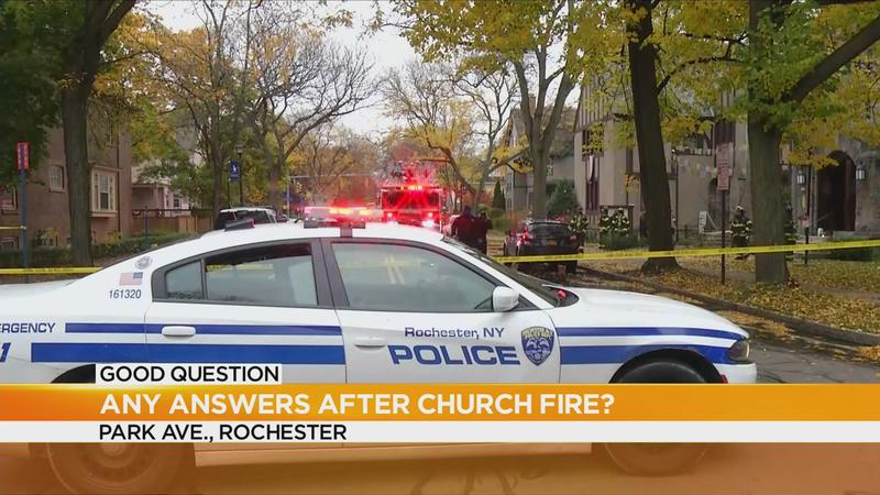 Good Question: What's the latest from the Park Ave church fire?