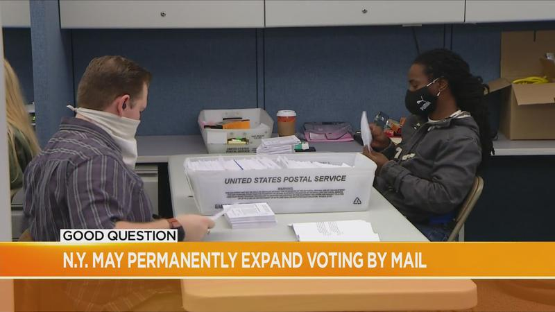 Good Question follow up: NY could speed up, permanently expand voting by mail, among other changes