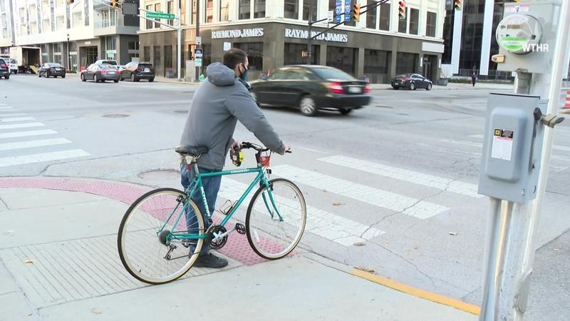 Indianapolis man thankful for new bike to get to work after he has two stolen