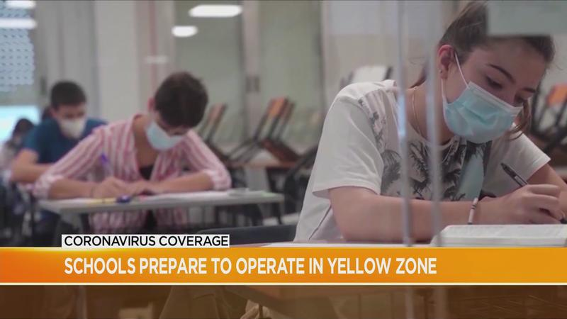 Schools prepare to operate under Yellow Zone restrictions
