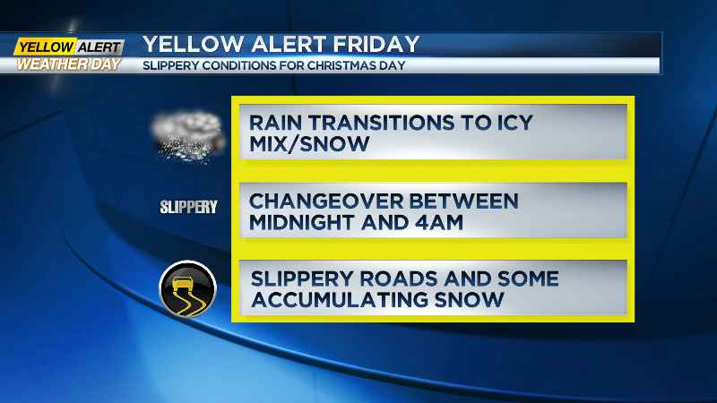 Special weather statement: Snow Wednesday then 'significant' rainfall starts Thursday