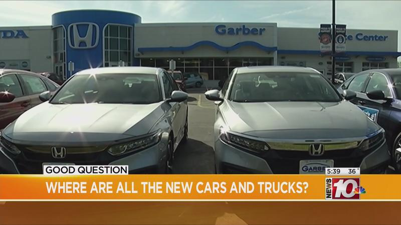 Good Question: Where are all the new cars and trucks?