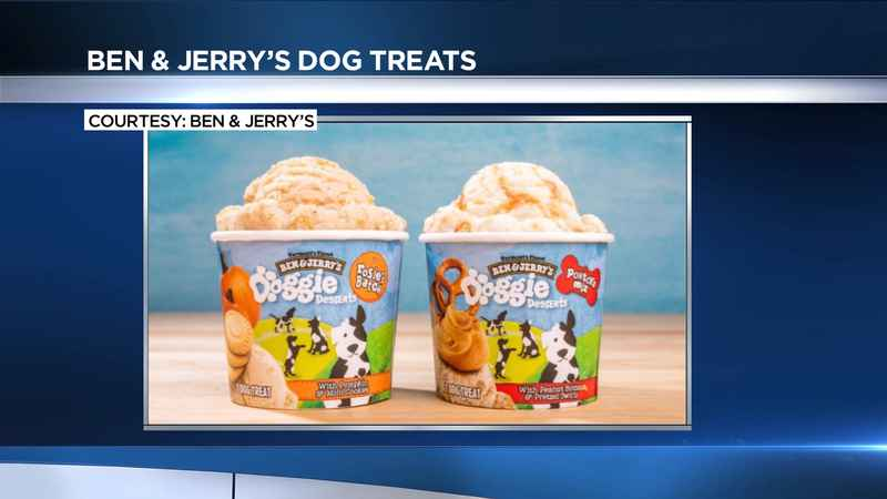 Ben and Jerry's to release dog treats soon