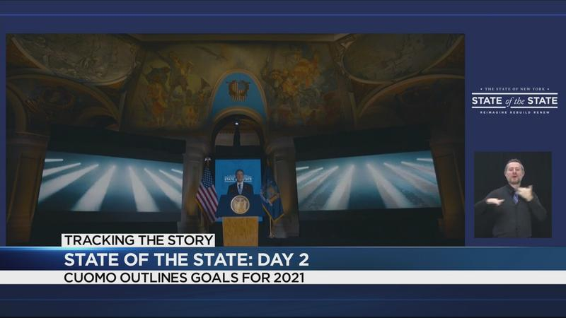2nd day of State of the State turns attention to reopening, COVID-19