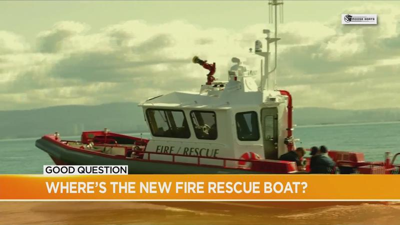 Good Question: Where's the new fire rescue boat?