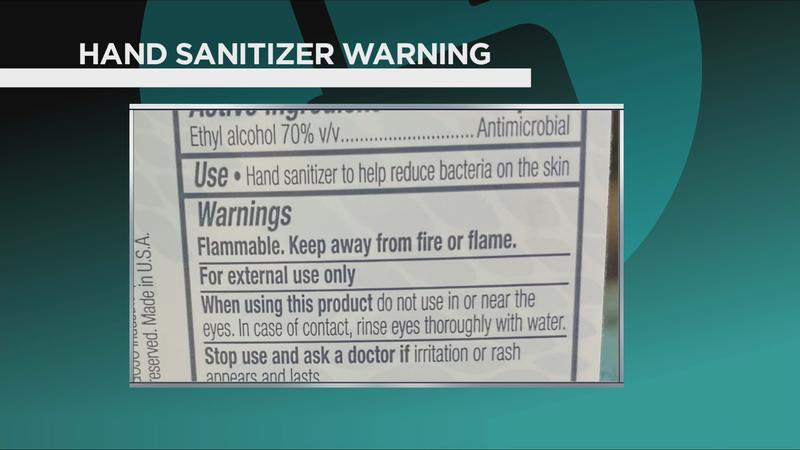 Hand sanitizer: Why it should never be in your kitchen