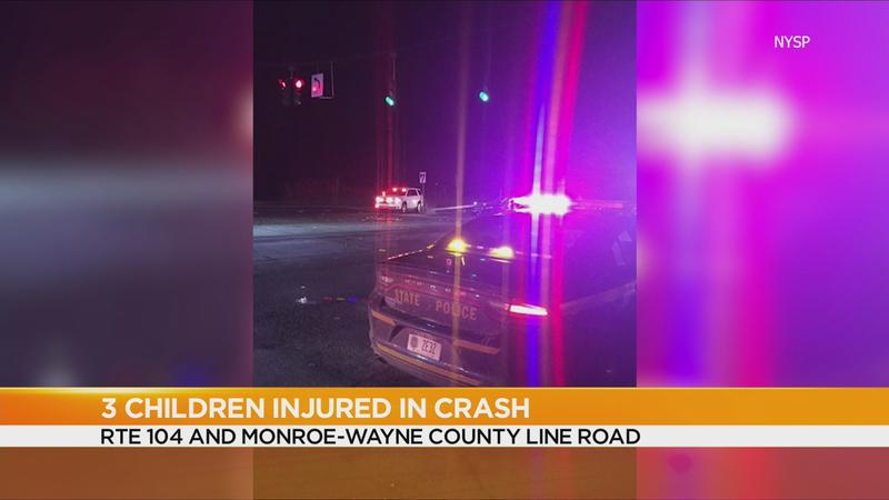 NYSP: Family of 4 injured, parolee facing charges after crash on 104