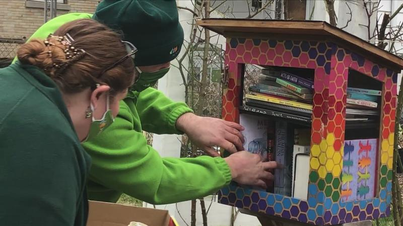 Avangrid donates books, including LGBTQ+ books, to little free libraries