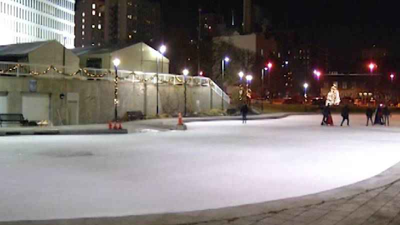 File image of MLK Park's Ice Rink