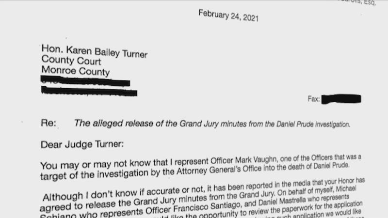 AG: Judge grants motion to unseal grand jury minutes in Prude case