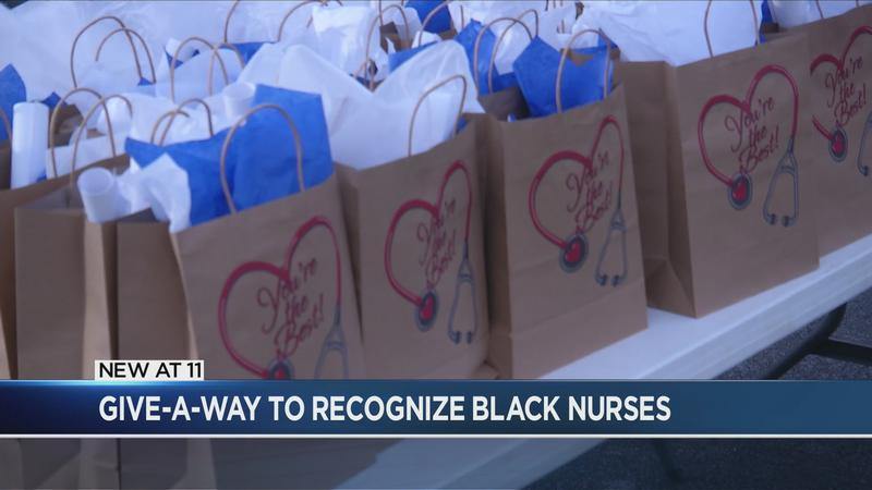 Ballerina Aesha Ash holds giveaway for Rochester's Black nurses