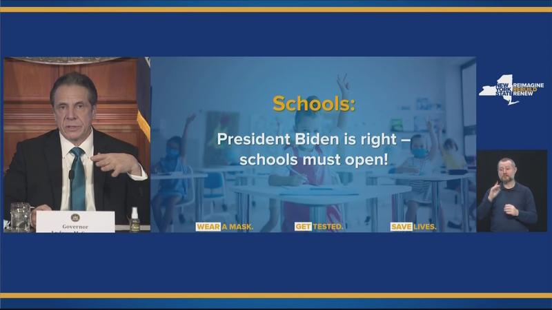 Gov says 'school must reopen' but 6' social distance rule remains