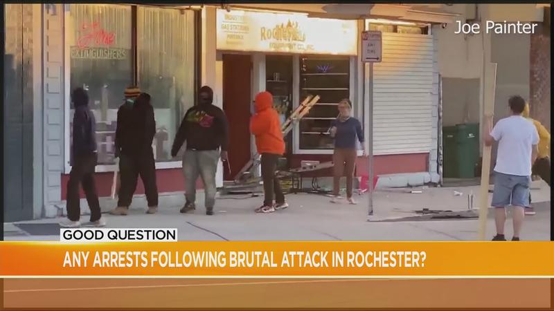 Good Question: Any arrests following brutal attack in Rochester?