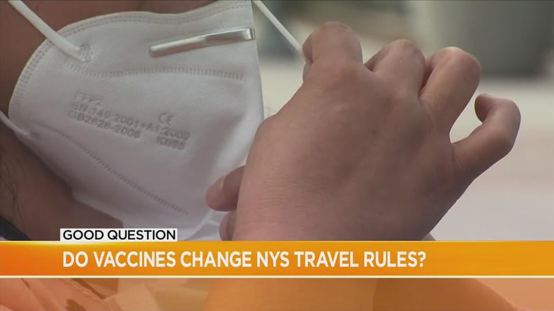 Good Question Follow Up: Do vaccines change NYS travel rules?