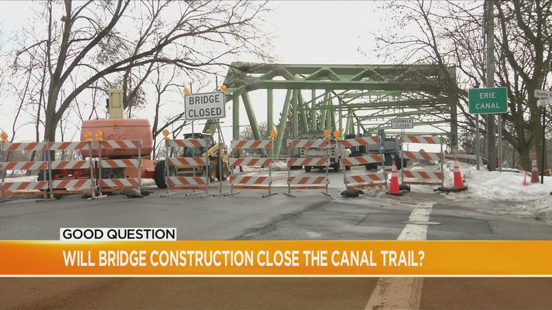 Good Question: Will bridge construction close the canal trail?