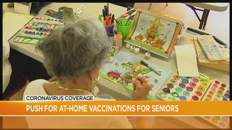 AARP makes push for at-home vaccinations for seniors