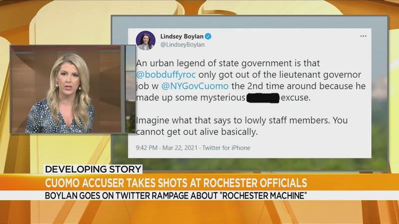 Cuomo accuser Boylan calls out 'Rochester Machine', area leaders