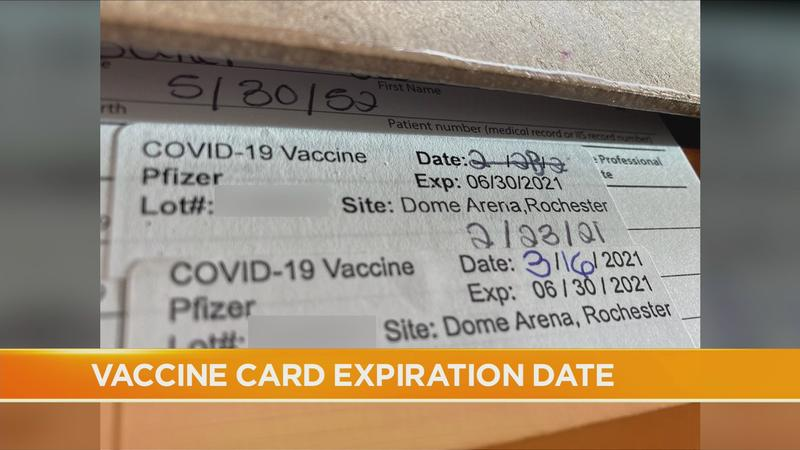 Good Question: What's that expiration date on my vaccine card?