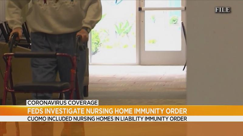 Report: Feds looking into NY nursing home immunity order