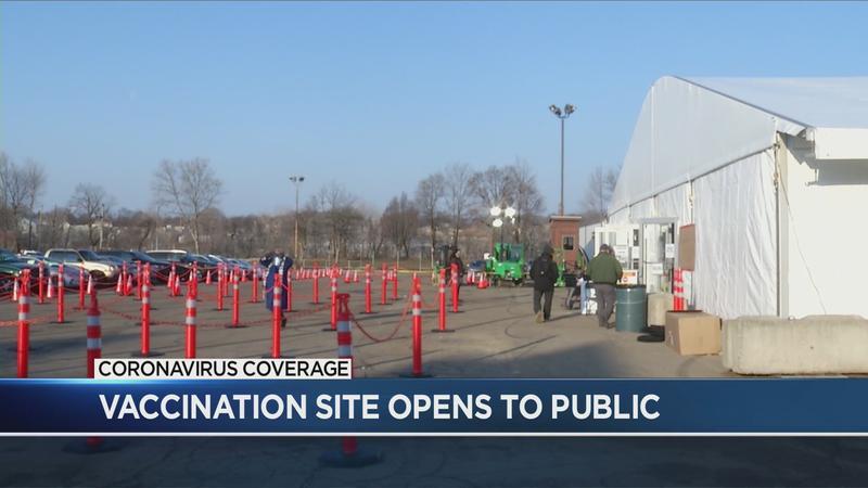Rochester mass vaccination site opens, expands availability
