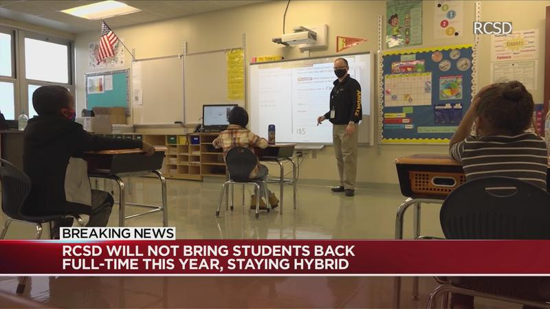 Superintendent: RCSD students will not be coming back this school year, staying hybrid