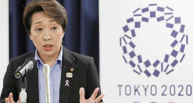 Japan's Olympics Minister Seiko Hashimoto speaks during a press conference at the cabinet office in Tokyo, on Sept. 19, 2019. Hashimoto, the new president of the organizing committee, cautioned on Tuesday of the problems that await.