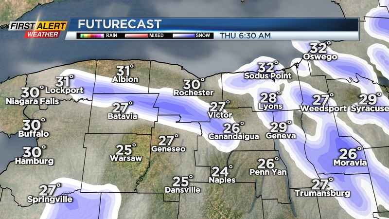 First Alert Weather: Yellow Alert dropped, but flakes continue tonight