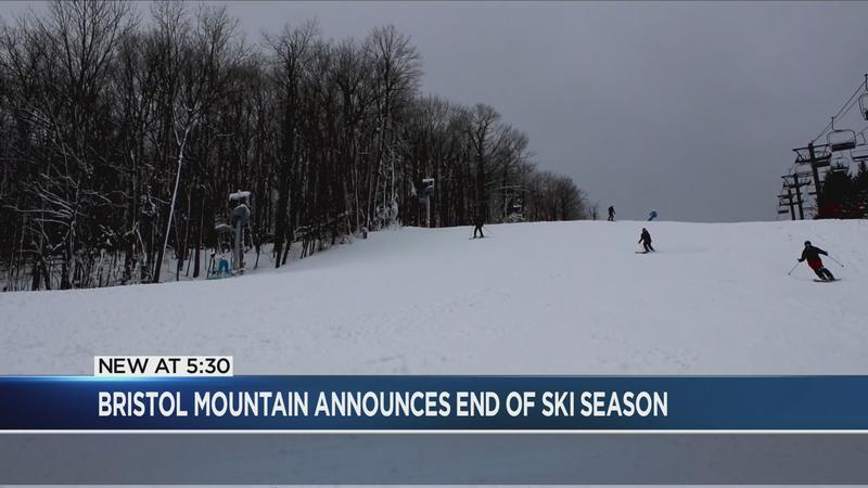 Bristol Mountain officially ends skiing season