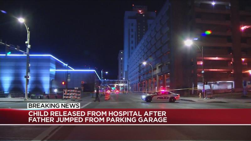 Child victim of Rochester parking garage suicide/attempted murder released from hospital