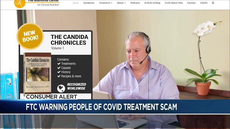 Consumer Alert: Companies' claims of COVID cures raise the ire of the FTC