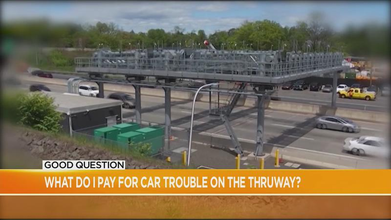 Good Question: What do I pay for car trouble on the Thruway?