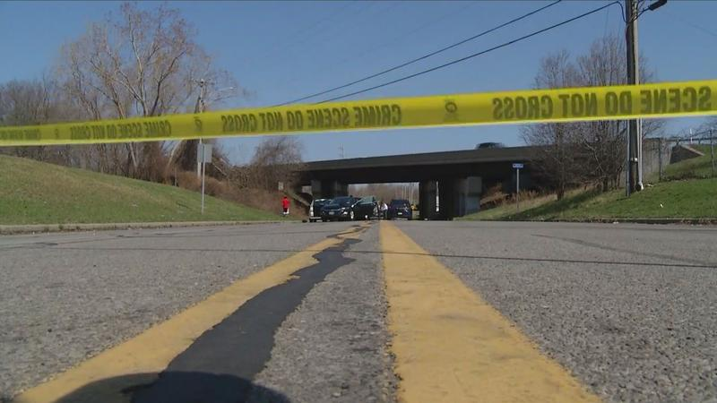 The scene of a fatal shooting during an attempted carjacking on Buell Road in Gates, April 7, 2021.