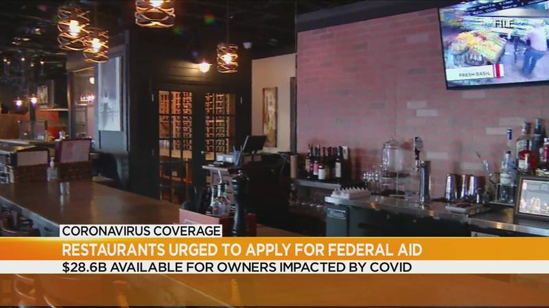 Restaurants can now apply for federal funding, here's how
