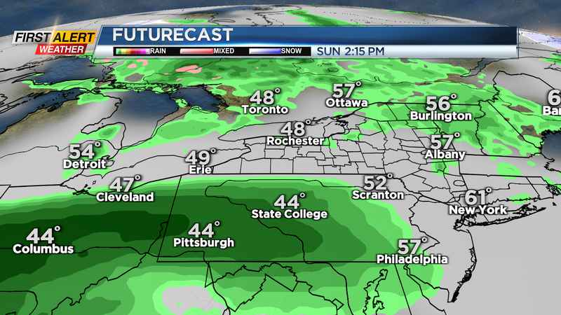 First Alert Weather: Storms fizzle, showers remain overnight