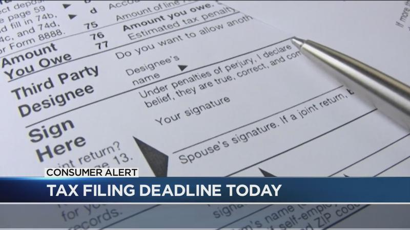 Consumer Alert: It's tax day and you can't pay? Here's what you should do.