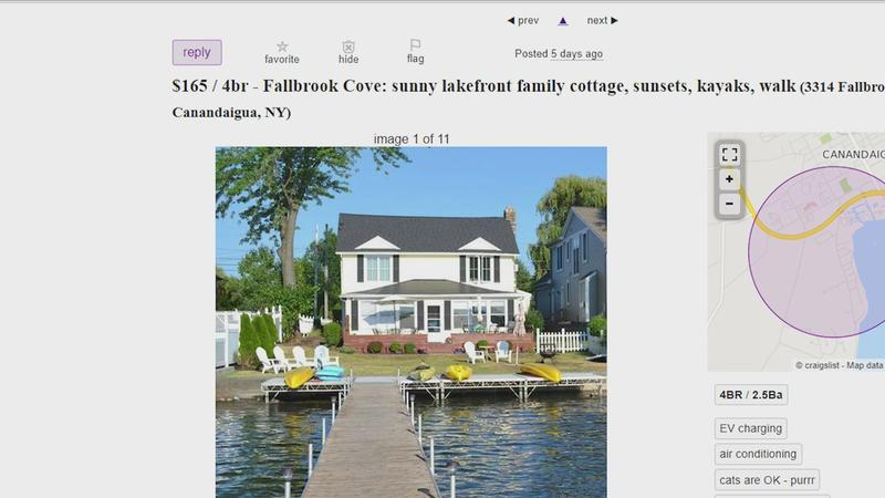 News10NBC Investigates: Dormant during COVID, a vacation rental scam is back