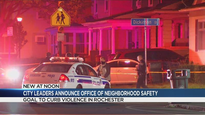 Aiming to reduce violence in Rochester, city leaders announce new Office of Neighborhood Safety