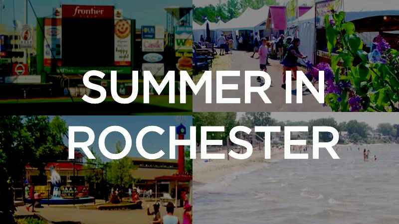 Summer in Rochester: What's on, what's off
