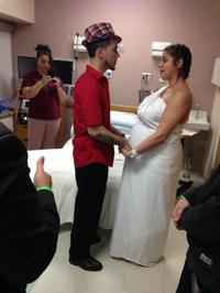 Rochester General Hospital helps a couple tie the knot