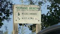 Durand Eastman Beach closed for swimming Tuesday