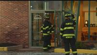 Explosion blows out doors, windows at Bruegger's Bagels
